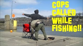 Download Cops Called while Fishing... SEARCHED and CITATION!! Video