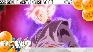 Download (2K) Dragon Ball Xenoverse 2 - Super Saiyan Rose Goku Black English Voice! (News) Video