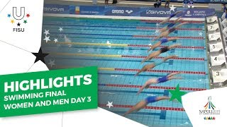 Download Highlights Day 3 I Swimming Women and Men Finals #Napoli2019 Video