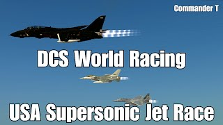 Download DCS World Racing USA Supersonic Jet Race F-16, Versus FA-18, F-15,F-14 Video