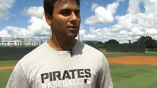 Download Pirates building winning future with first Indian pro baseball prospect Video
