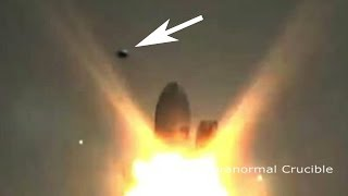 Download UFO Destroys SpaceX Rocket On Launch Pad? Video