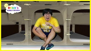 Download Japan Capsule Hotel Tour + More fun places with Ryan's Daddy!!! Video