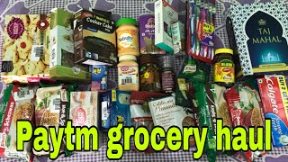Download Paytm mall grocery haul/home products at low prices/paytm sale haul/Cashback up to ₹5000 Video