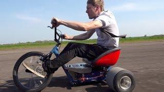 Download 20,000 Watt Electric Drift Trike Video
