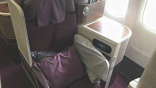 Download 'THAI TERRIFIC' - Thai Airways long-haul Business Class [by inflightexpert] Video