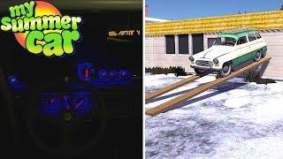 GHOST Hunting - Satsuma FLYING Car - My Summer Car Story #36