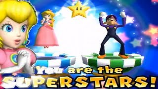 Download Mario Party 9◆Solo Mode #99 Peach(2 Players Tie)◆Bowser Station Video