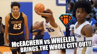 Download McEachern vs Wheeler GETS INTENSE in Front of SELL OUT Crowd!! | Top Team Responds BIG TIME Video