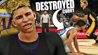 Download NBA 2K17 MyCAREER LaMelo Ball #9 - LaMelo DESTROYS Curry!!! MY LAST 2K17 VIDEO! Video