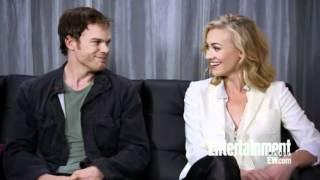 Download Yvonne Strahovski & Micheal C. Hall Dexter- Comic Con San Diego 2012 Video
