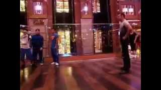 Download Break Dance Crew gets a surprise by Old School Bboy picked from the crowd Video