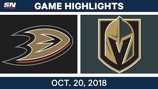 Download NHL Highlights | Ducks vs. Golden Knights - Oct. 20, 2018 Video