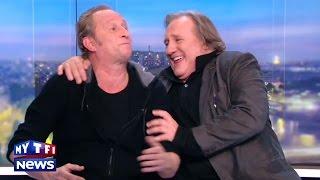 Download Gerard Depardieu et Benoit Poelvoorde n'ont pas bu de vin pendant ″Saint Amour″, ils l'assurent ! Video