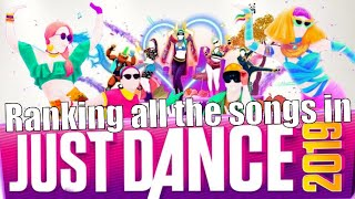 Download Ranking & rating all the songs in Just Dance 2019 Video