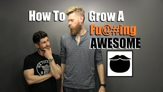 Download How To Grow A Fu#king AWESOME Beard |Top 10 Pro Tips With Beardbrand Video