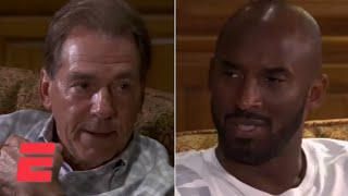 Download Kobe Bryant visits Alabama football team, has sit-down conversation with Nick Saban | ESPN Video