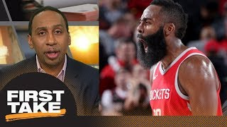 Download Stephen A.: James Harden is 'head and shoulders above' LeBron James for MVP | First Take | ESPN Video