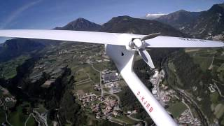 Download High Altitude Flight with RC Motor Glider in Dolomite Alps (Italy) Video