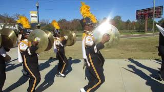 Download Alabama State University Mighty Marching Hornets Band Marching In (2017) Turkey Day Classic Video