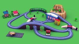 Download trains for children - school bus cartoon - cartoon for kids - chu chu train - trains for kids Video
