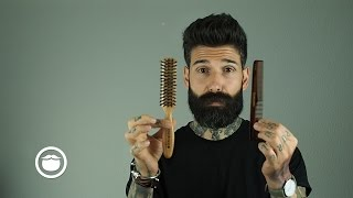 Download How I Tame a Thick & Curly Beard | Carlos Costa Video