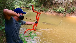 Download Building Amazing PVC New Style Compound Bowfishing For Shooting Huge Fish- Make n Use Video