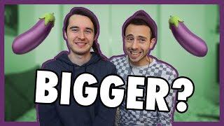 Download WHO HAS A BIGGER 🍆 | #AskTwoBeeps Video