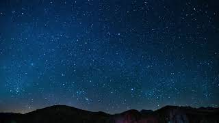 Download Night Sky Stars Falling Animated Video Background Video