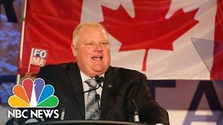 Download Former Toronto Mayor Rob Ford Dies | NBC News Video