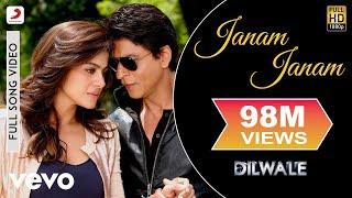 Download Janam Janam - Dilwale | Shah Rukh Khan | Kajol | Pritam | Arijit | Full Song Video Video