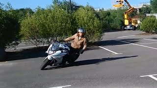 Download How to do a tight turn/corner on a Motorcycle, full movie (english version) Video