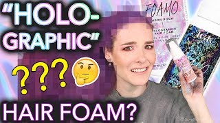 Download Testing ″Holographic″ hair foam (the results will not shock you at all) Video