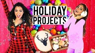 Download 7 Holiday DIY Projects! DIY Room Decor, DIY Holiday Treats + DIY Gifts! Niki and Gabi Video