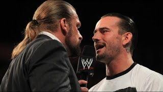 Download Raw - Punk and Triple H exchange words before Night of Champions Video