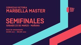 Download Semifinales - Mañana - Cervezas Victoria Marbella Master 2019 - World Padel Tour Video