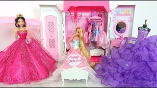 Download Snow White Rapunzel Princess doll Room Morning Routine الأميرة دمية غرفة نوم Princesa Boneca Quarto Video