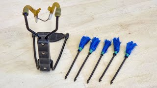 Download How To Modify A Slingshot To Fire Darts, and How To make Slingshot Darts Video