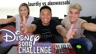 Download Disney Song Challenge - LaurDIY vs Alex Wassabi | AJ Rafael Video