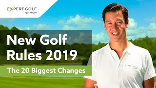 Download NEW GOLF RULES 2019   The 20 Most Important CHANGES Video