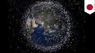Download Japan to launch 'magnetic net' to clean up space debris Video