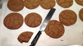 Download Ultra Soft & Chewy Ginger Cookies - A Great Autumn Recipe from bakeyourwaykitchen! Video