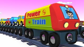 Download Trains for kids - Choo Choo Train - Kids Videos for Kids - Trains - Toy Factory - Cartoon Train Video