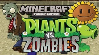 Download Plants vs. Zombies in Minecraft Pocket Edition! Video