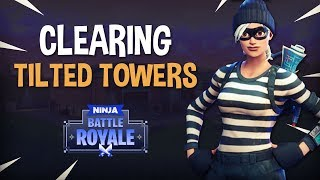 Download Clearing Tilted Towers! Fortnite Battle Royale Gameplay - Ninja Video