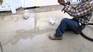 Download How to repair cracks in concrete patio and deck. Video