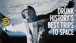 Download Drunk History's Best Trips to Space (feat. Justin Long, Blake Anderson & Adam Devine) Video