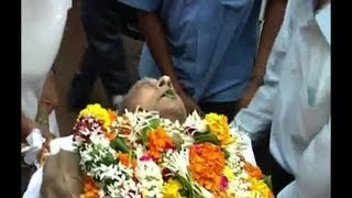 Download Legendry actor Pran cremated Video