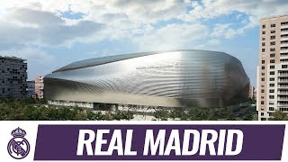 Download The future Santiago Bernabéu stadium ⚽️ Video