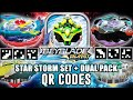 Download QR CODES SATOMB,GENESIS VALTRYEK ,STAR STORM ARENA E X2Y2 DUAL PACK - BEYBLADE BURST APP Video